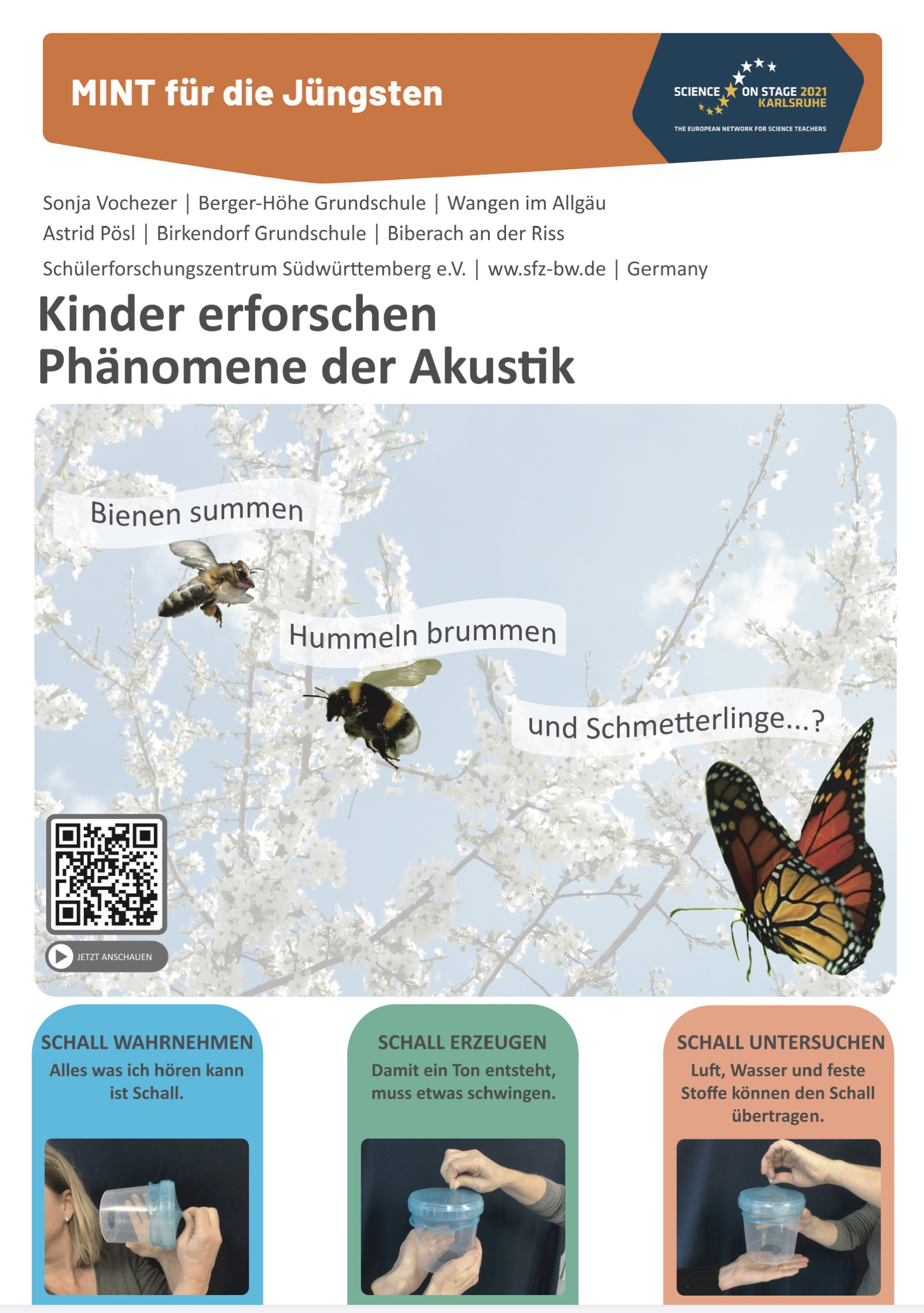 Plakat - Science on Stage